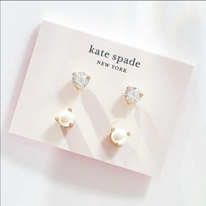 KATE SPADE Rise and Shine Stud Earrings Set